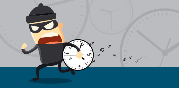 6 Time Thieves That Are Holding You Back At Work